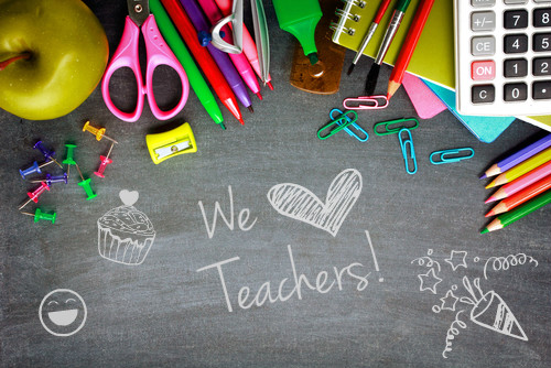 We love teachers Image